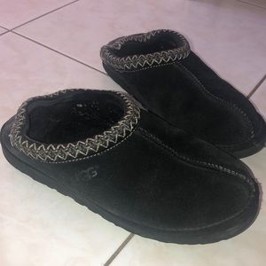 Black ugg slippers authentic